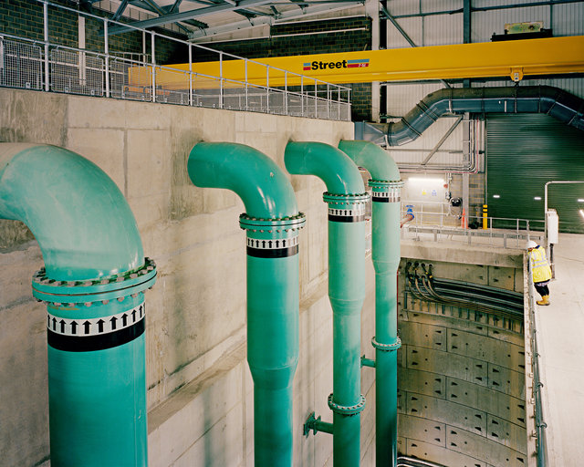 Inlet Pumping Station, Peacehaven Wastewater Treatment Works