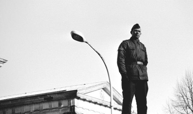 berlijn 1989 vallen van de muur brandenburgertoren