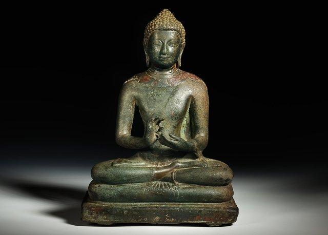Pyu Buddha 6-7th centuary Front.jpg