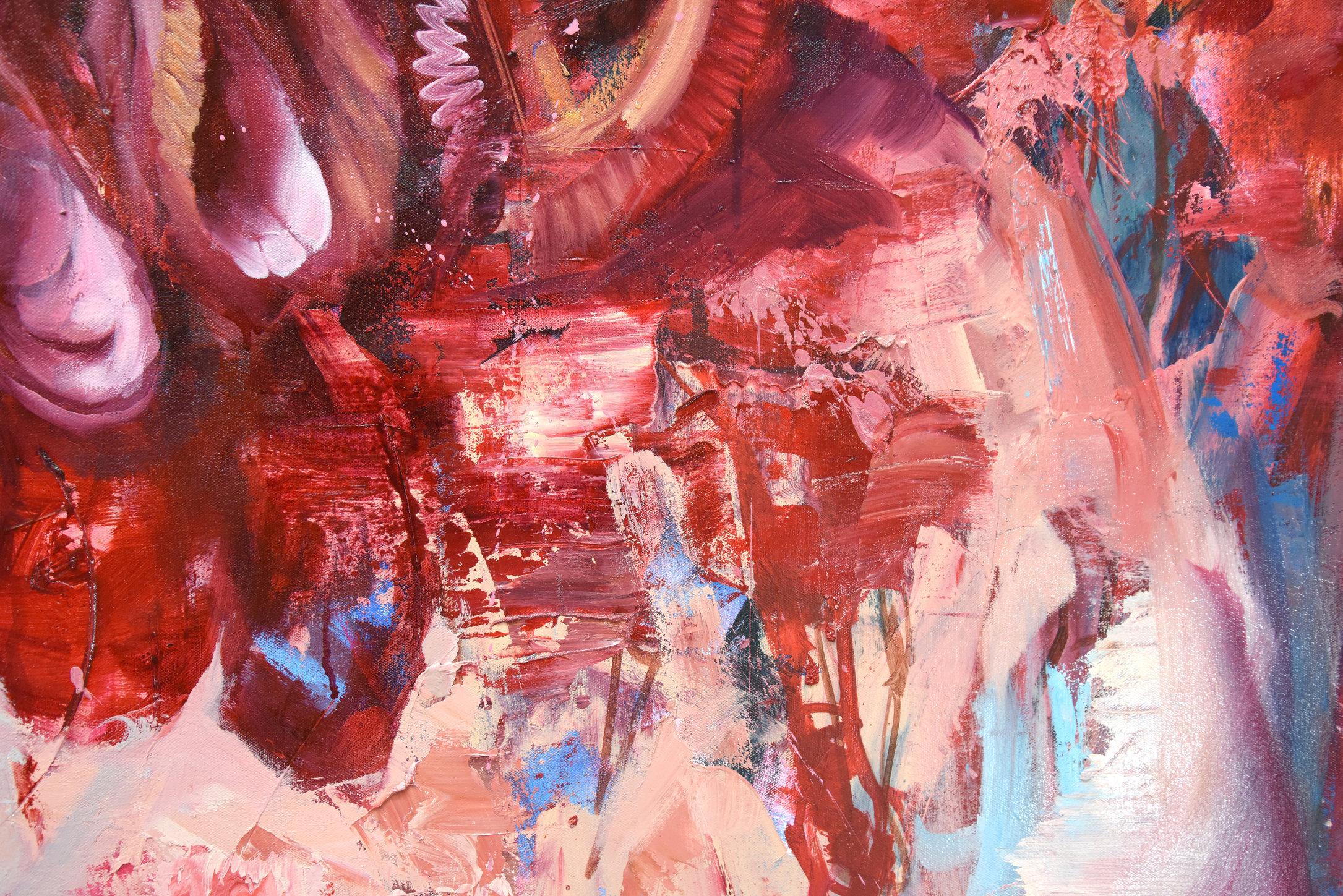 (Detail) Goodbye Horses (Red Queen II)