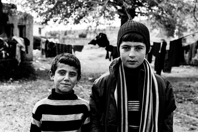 Boys, Mesher,Turkish Kurdistan 2014