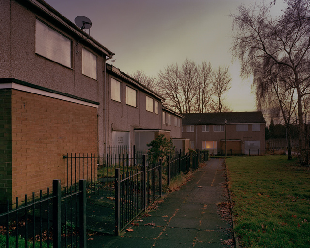 Degenerated housing, Salford, 2012
