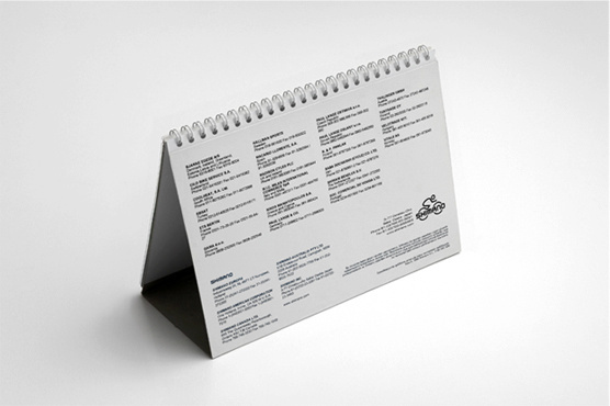 Shimano Campaign - Calender cover design