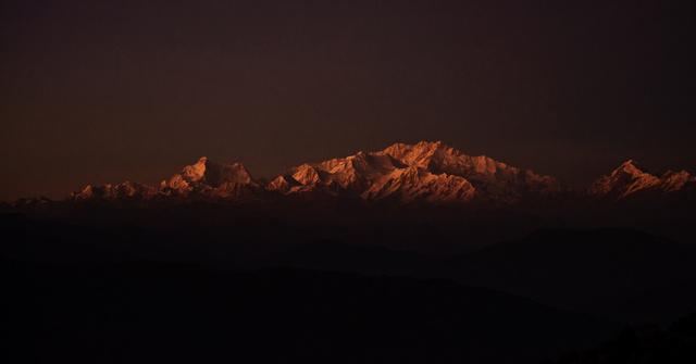 Kanchenjunga Range, Darjeeling, India