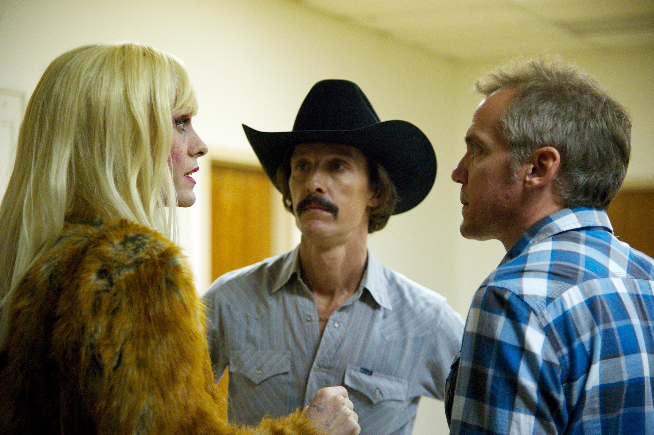 Jared Leto - Matthew McConaughey & Director Jean-Marc Vallee - DALLAS BUYERS CLUB