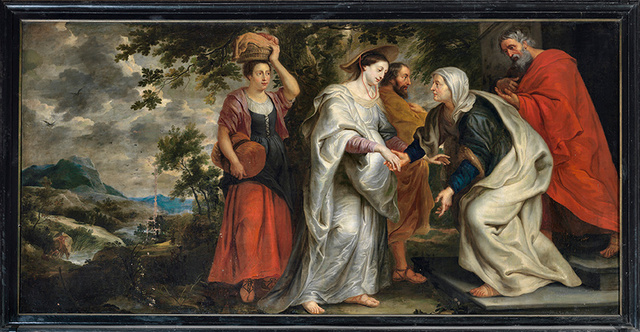 The Visitation, anonymous