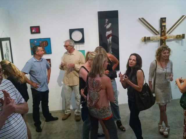 B & G Gallery, Santa Monica:  LOZA in collective exhibit