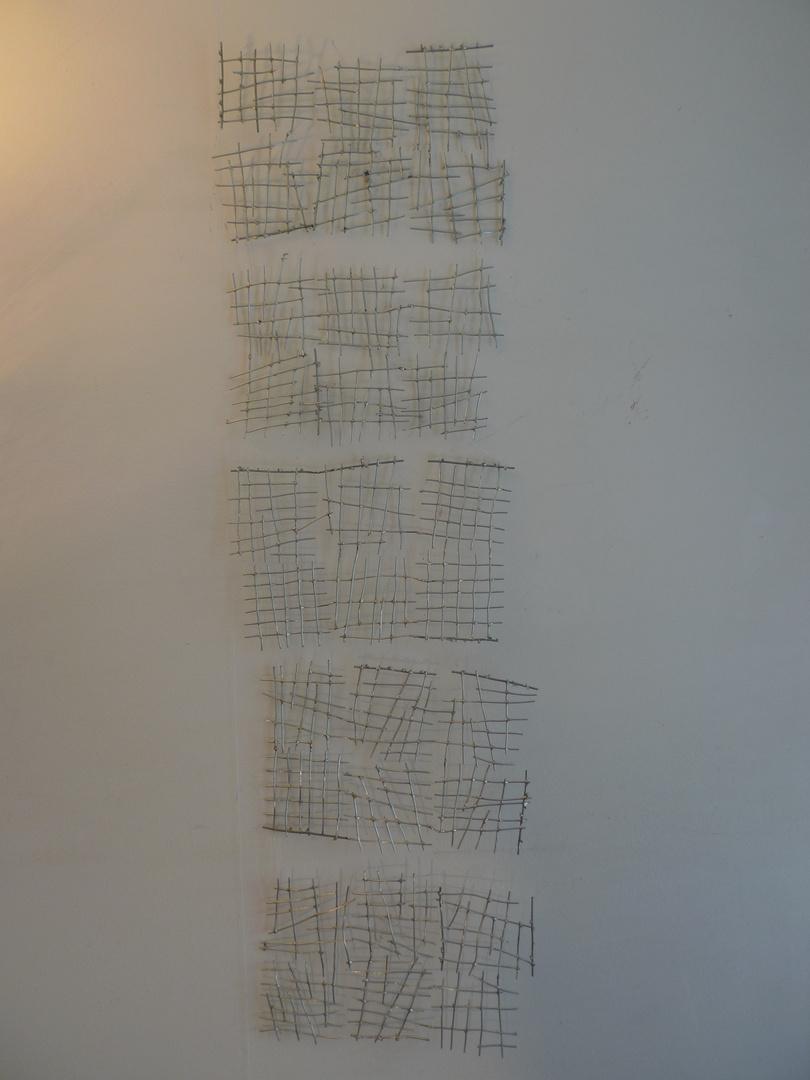 Tittle-tattle  (140*29 cm, 2013)