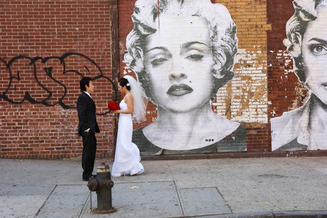 Wedding with Madonna