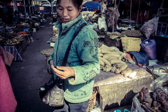 Ruili, Yunnan Traditional CTM market