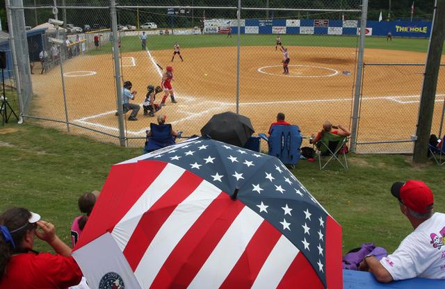 Softball Game - Rock Ridge NC