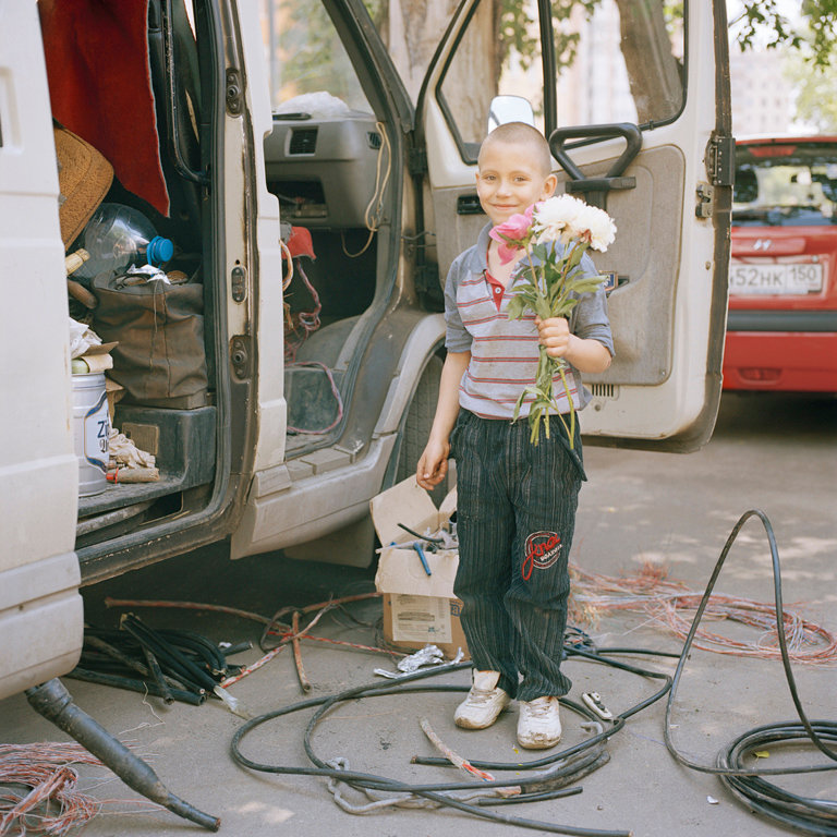 15_Rozovsky_Electrician's Son with My Bouquet.jpg
