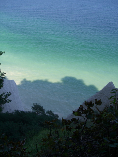 THE CHALK CLIFFS ON RUGEN
