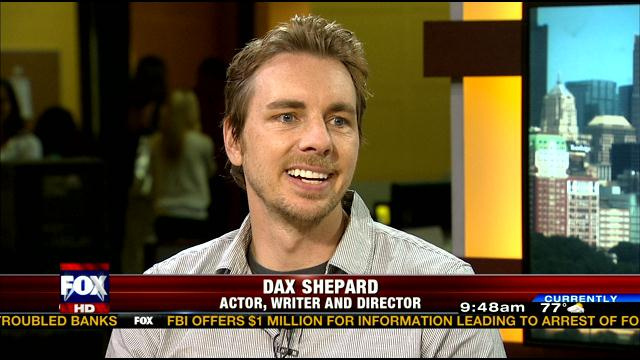 "Actor/Director Dax Shepard for ""Hit and Run"" Media Tour"