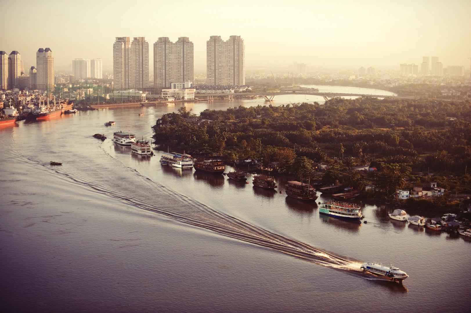 Mekong, Ho Chi Minh City, Vietnam