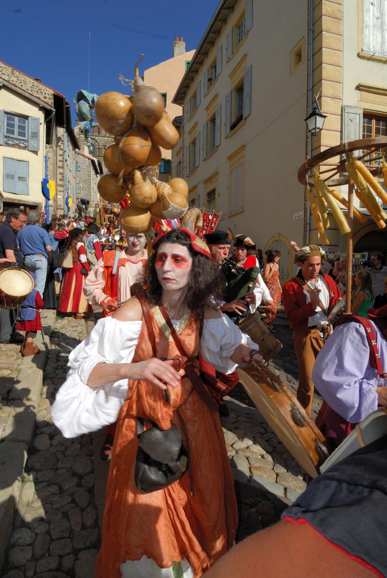 La fête de l'Oiseau, Le Puy-en-Velay