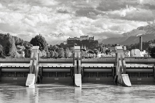 Wasserkraftwerk Sohlstufe Lehen