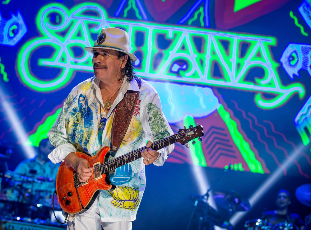 Carlos Santana in MEXICO