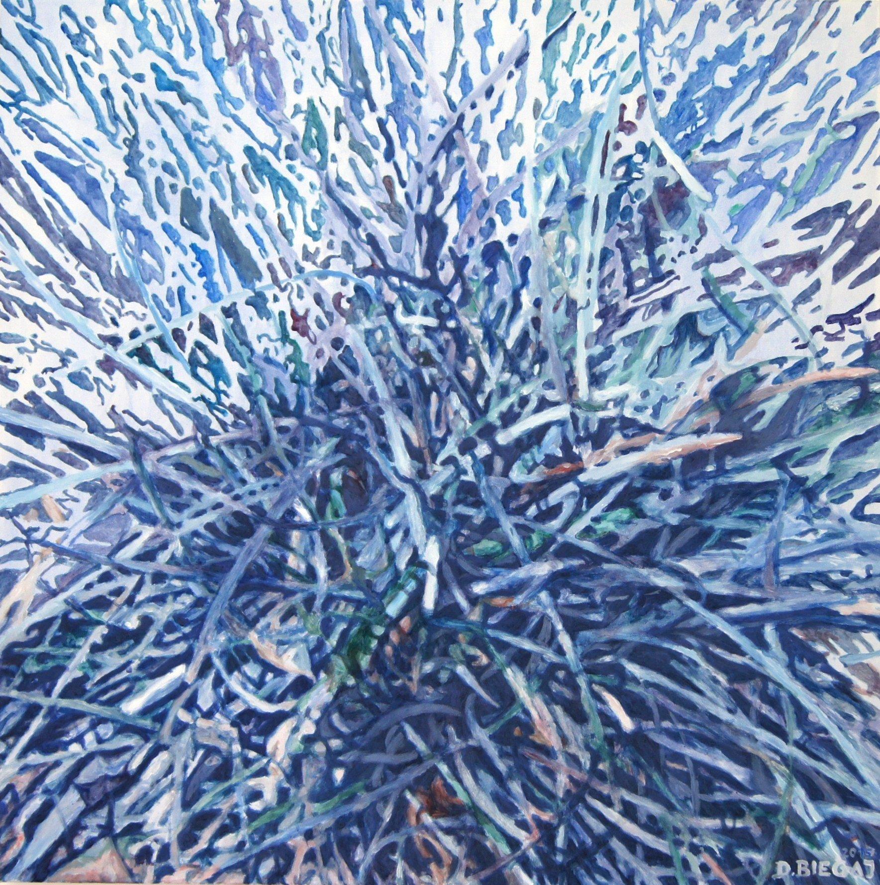 Nature 8 90x90 akryl płótno 2015