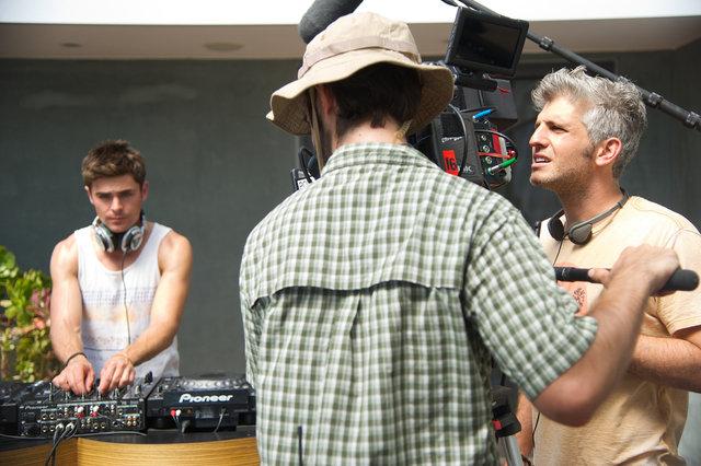 Zac Efron  Director Max Joseph