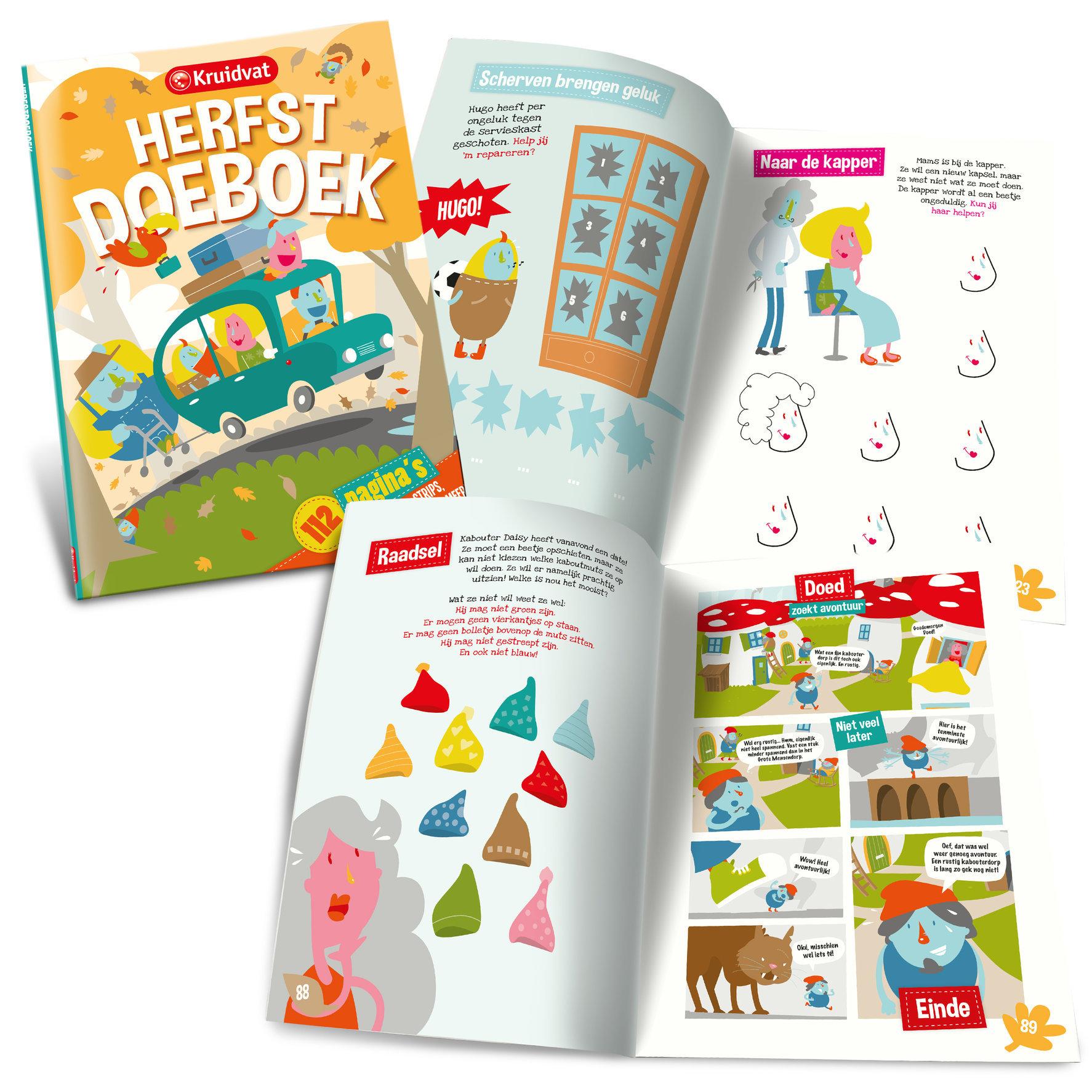 Kruidvat Herfst doeboek | publicaties