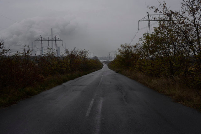 On the road, Bulgaria.