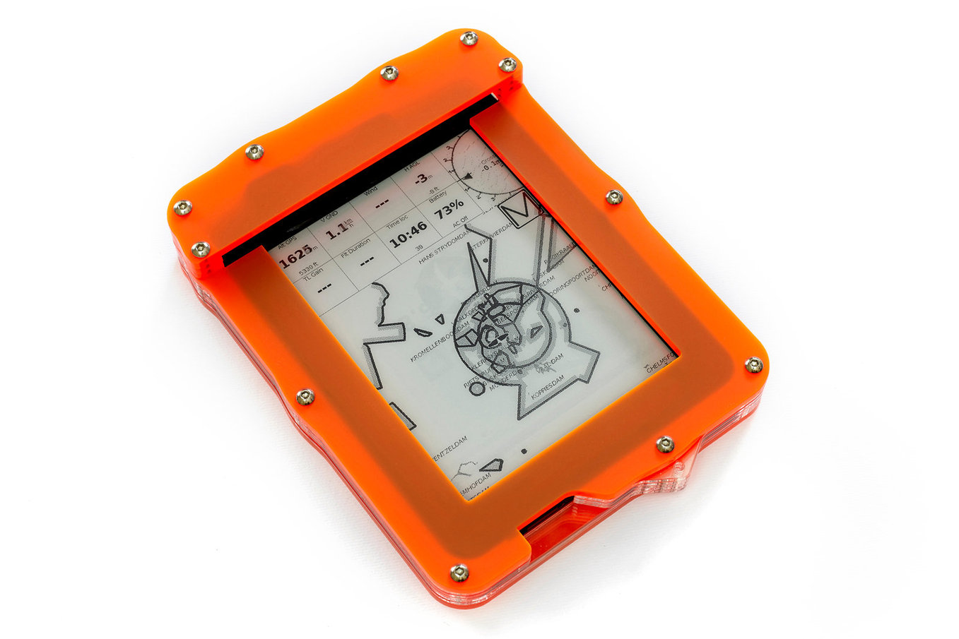 Fuve inch flight computer with vario and GPS  €330 with express