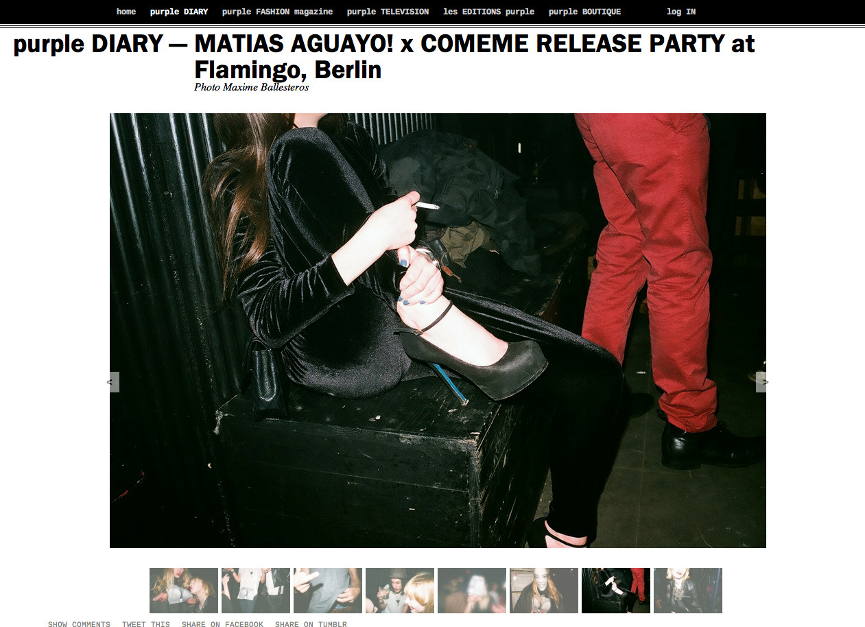purple DIARY   MATIAS AGUAYO  x COMEME RELEASE PARTY at Flamingo  Berlin.png