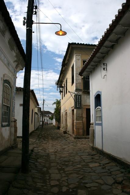 Rua da estalagem Colonial