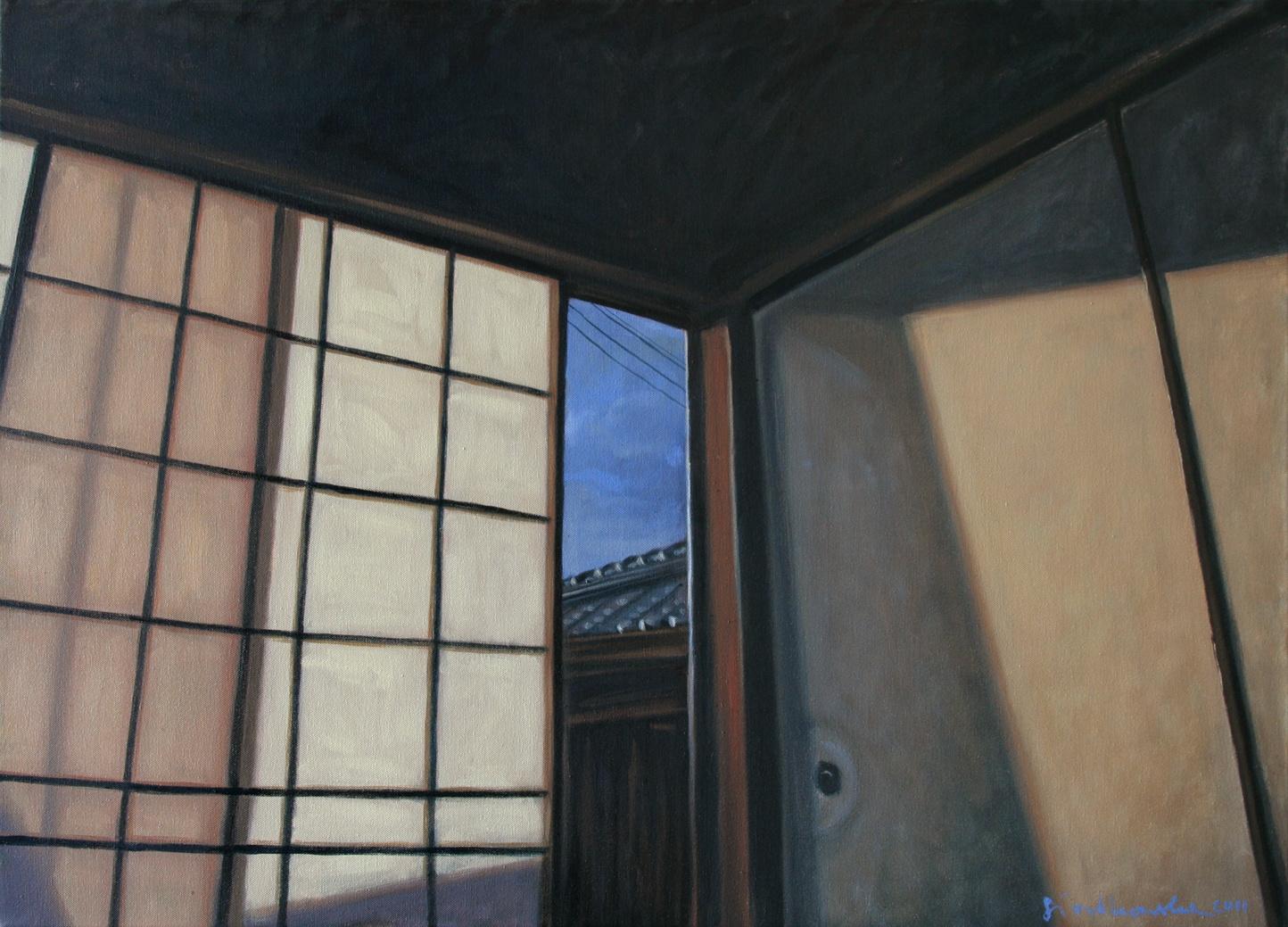 Empty room, 100x73 olej płótno 2011