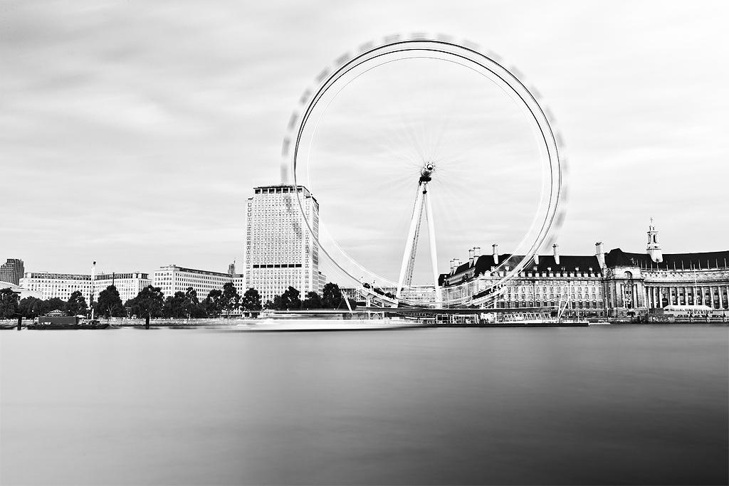 London Eye in Motion