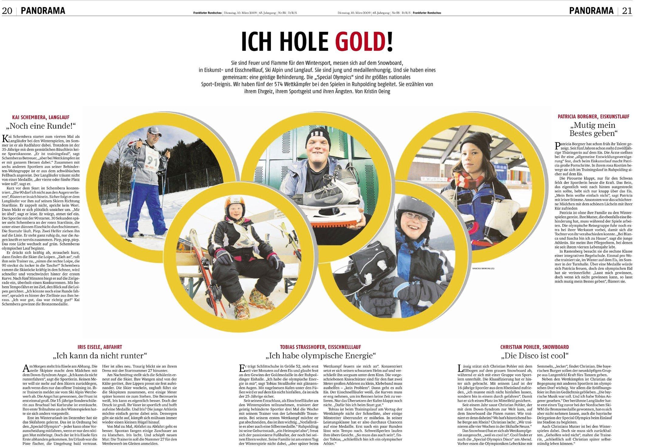 Frankfurter Rundschau 10.03.2009