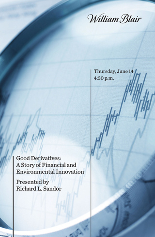 good derivatives a story of financial and environmental innovation