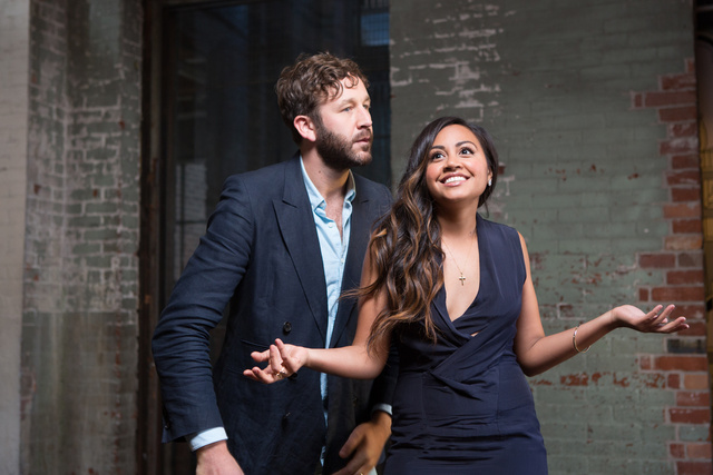 chris o'dowd and jessica mauboy, actors