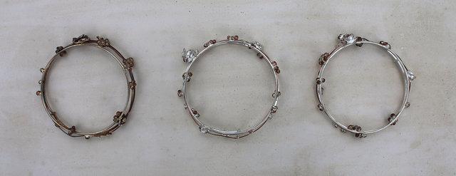 Botanical Bangle Bracelets