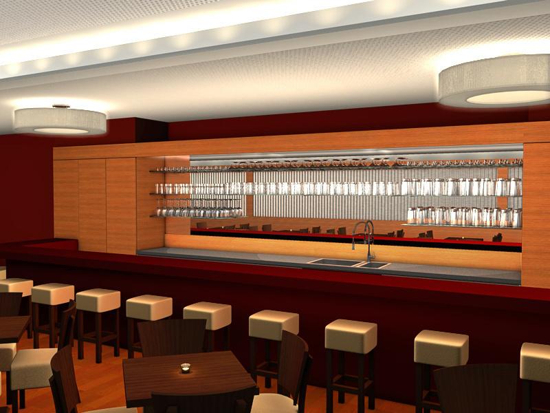 MAEX Event Location | München | Ansicht Bar