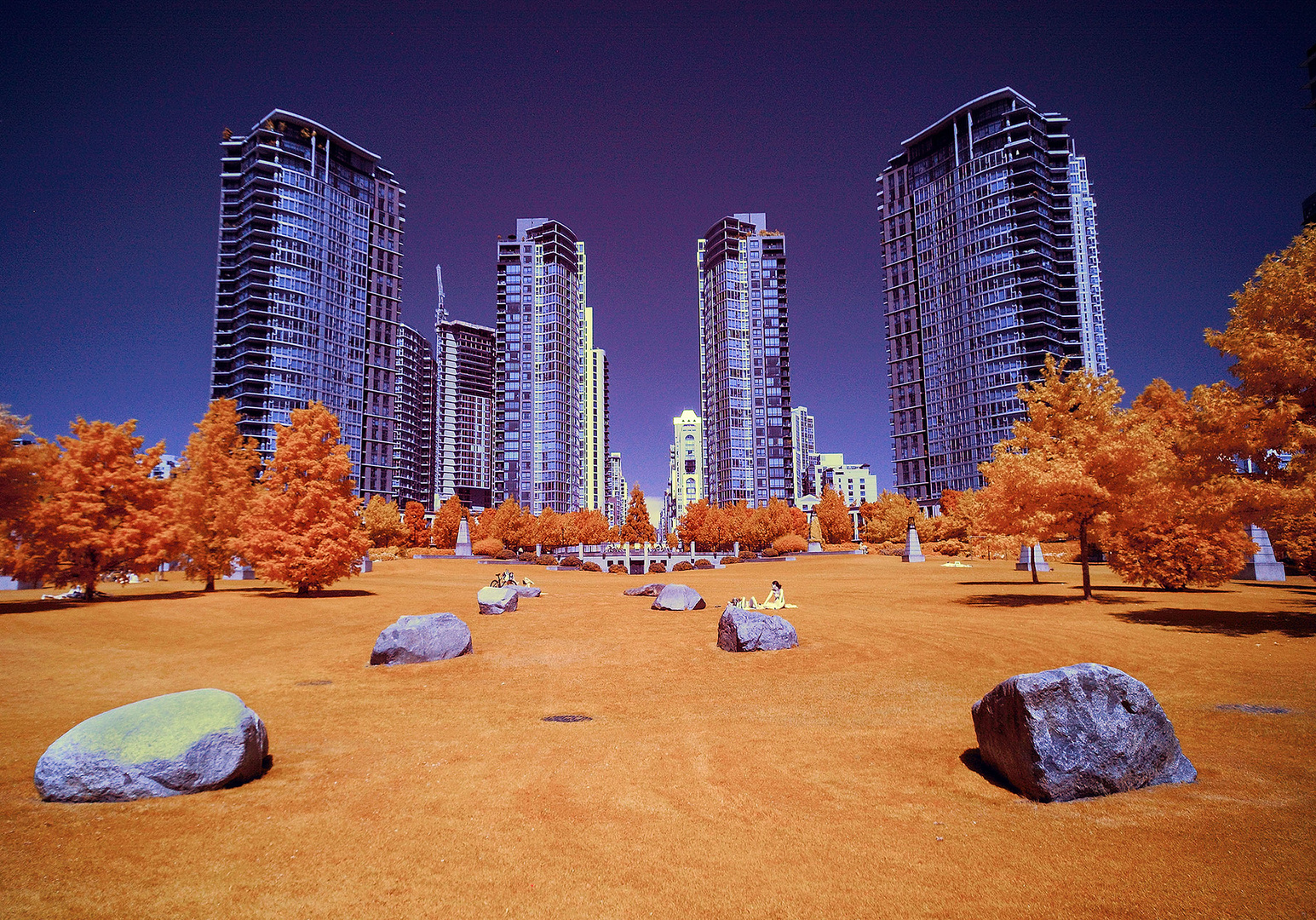 Vancouver, Canada, Infrared