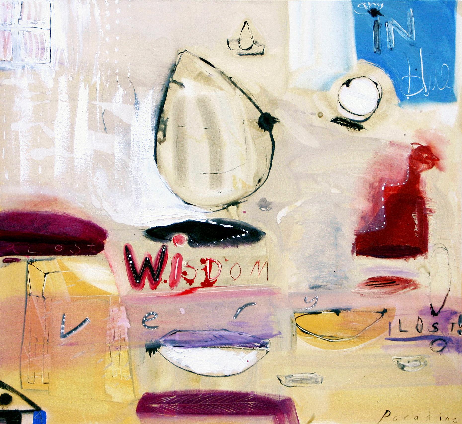 A lost wisdom 120x120 Acylic on canvas 2004.jpg