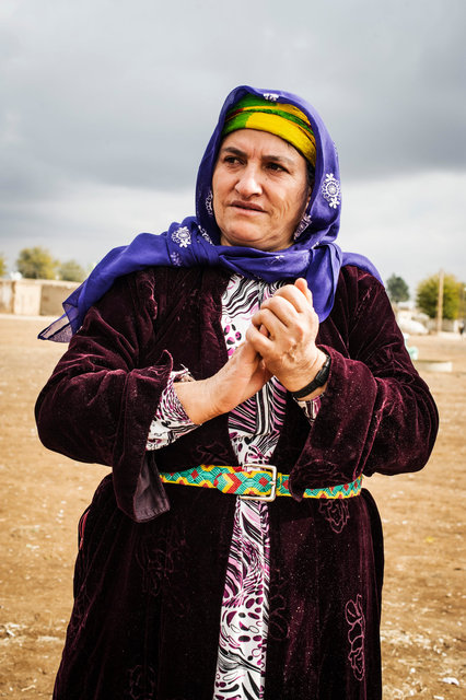 Woman, Mesher, Turkish Kurdistan 2014