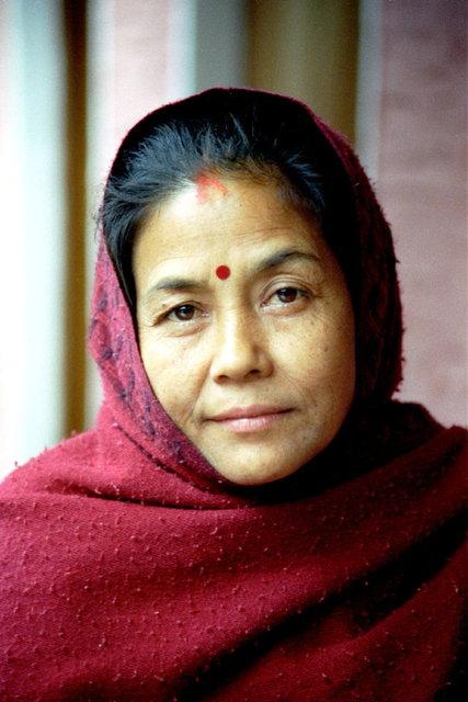 nepal - hindoe vrouw