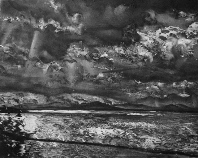 """Lake Champlain    21 x 26"""""""