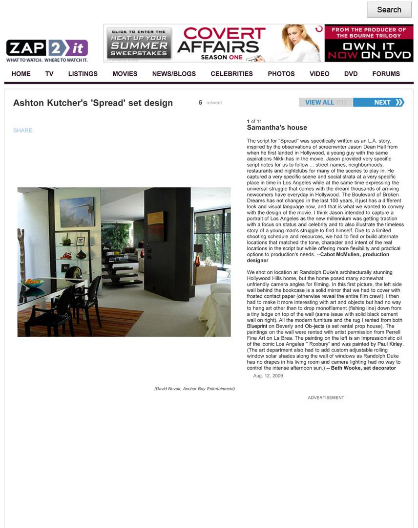 Ashton Kutcher's 'Spread' set design - Zap2it.jpg