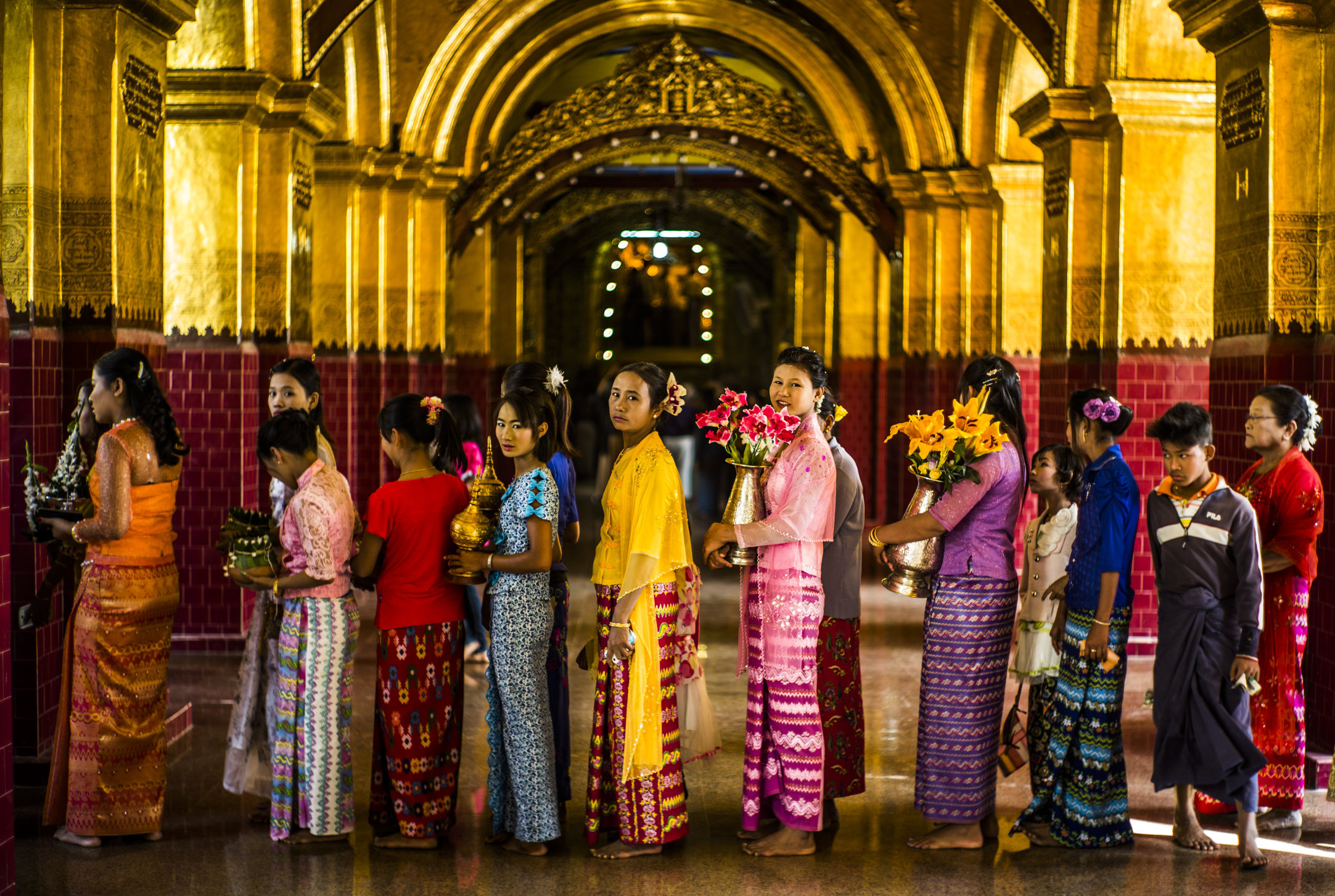 Mandalay, Myanmar. 2015.