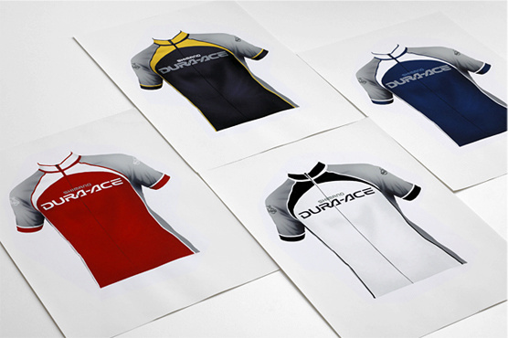 Shimano Campaign - Uniform design