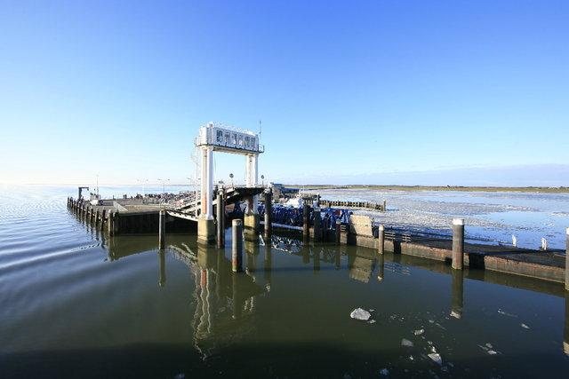 haven aankomst schiermonnikoog