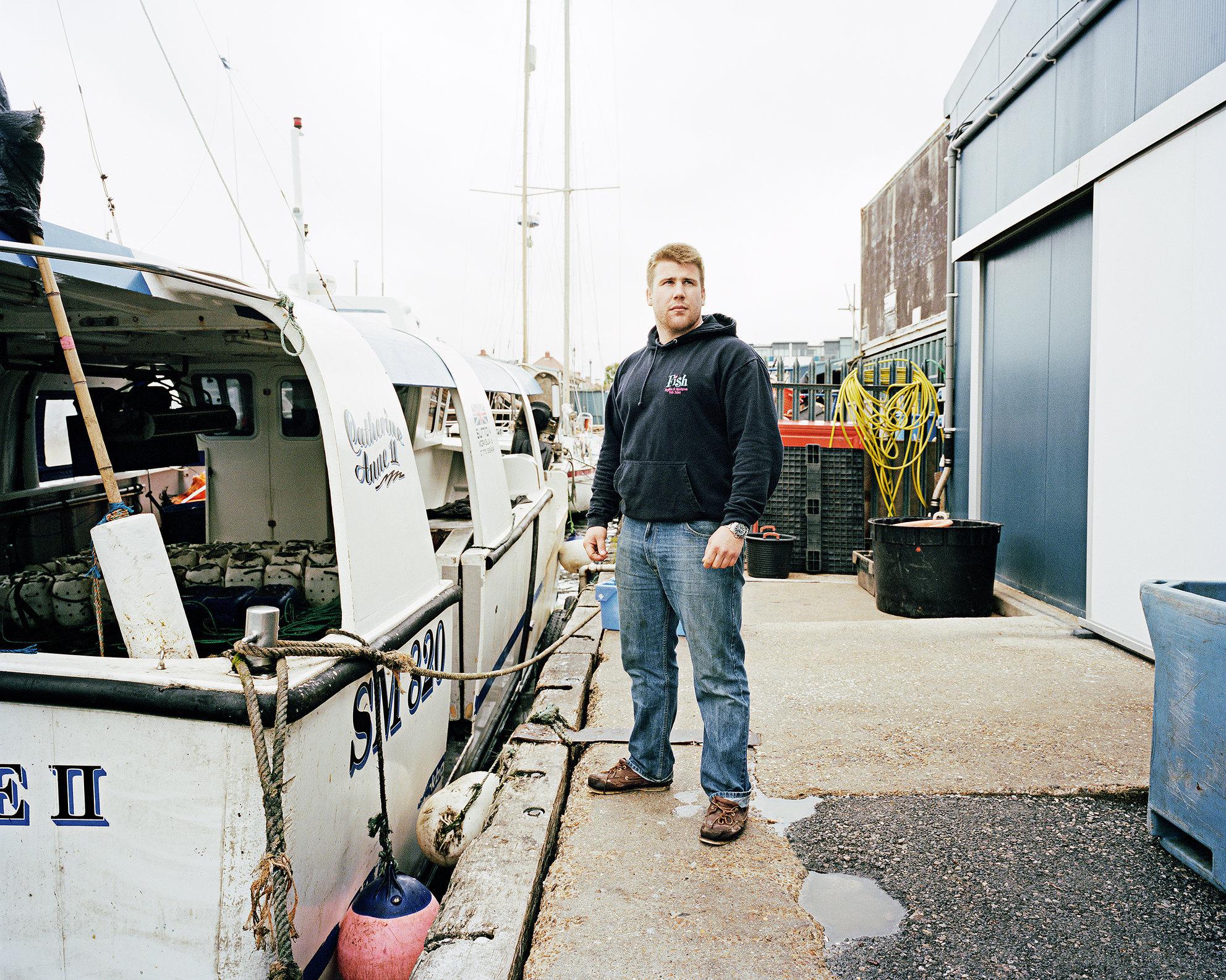 Charlie Brock, Brighton & Newhaven Fish Sales