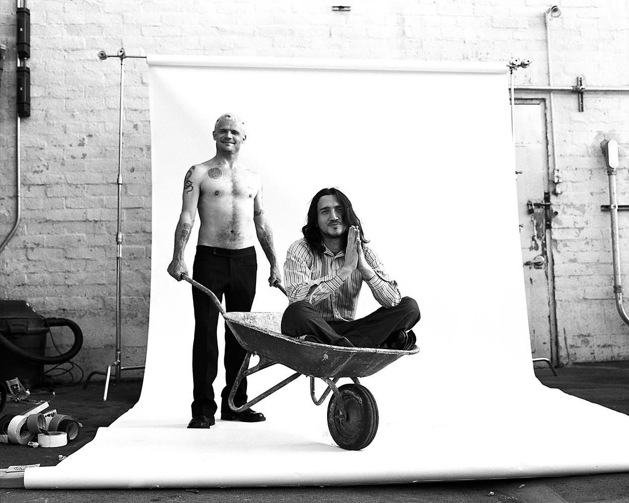 Flea and John Frusciante