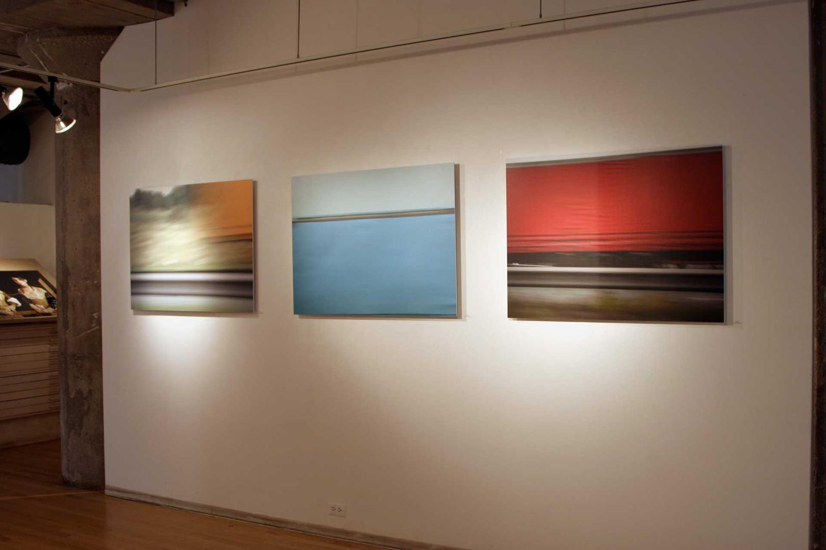 Commute: Trucks - Schneider Gallery, Chicago, 2007
