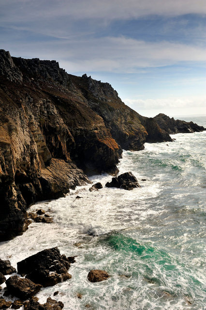 Pointe de Dinan, presqu'île de Crozon, finistère