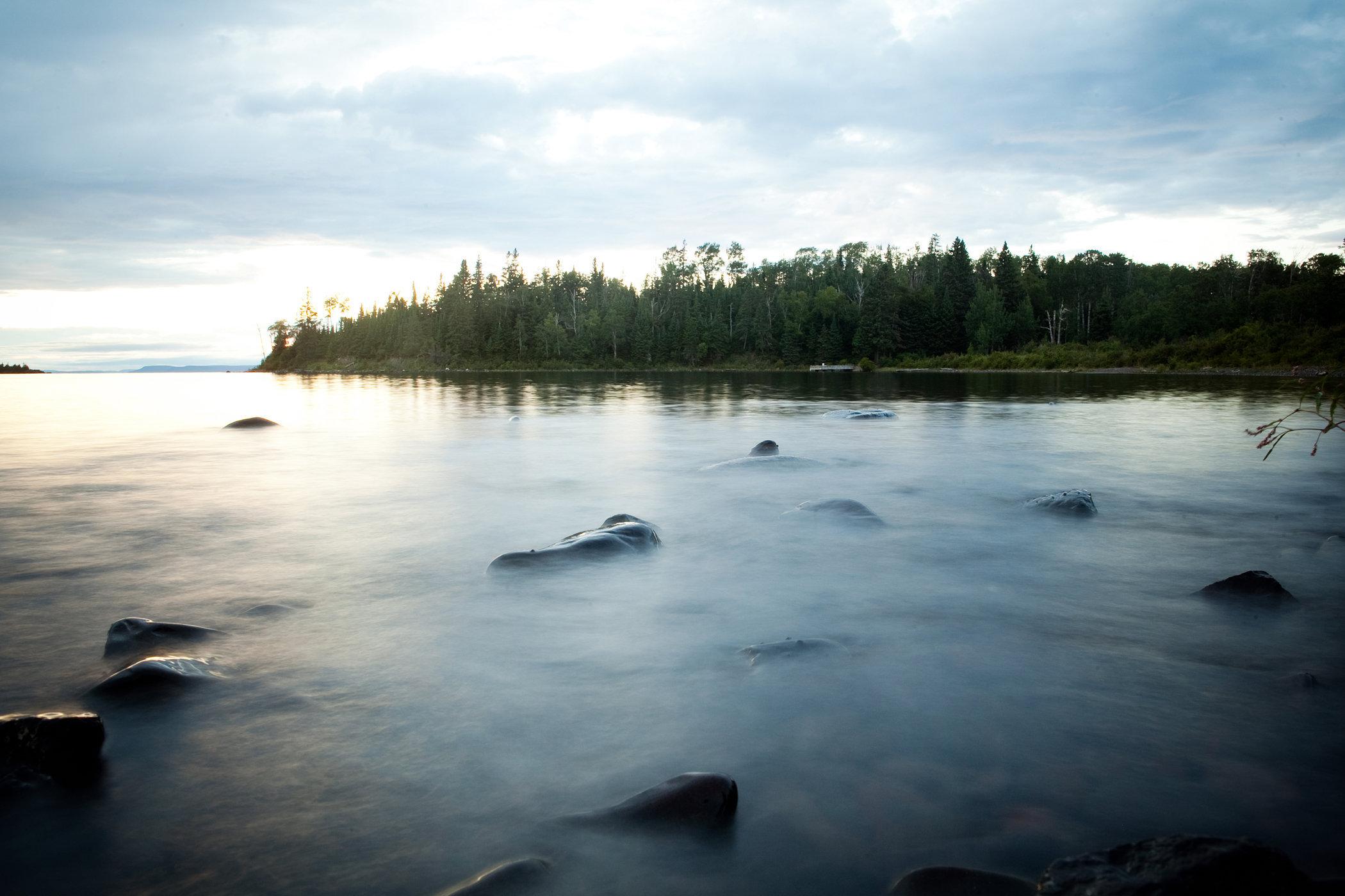 Isle Royale Bay